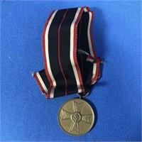 GERMAN NAZI 1939 WAR MERIT MEDAL W/ RIBBON