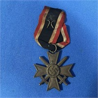 GERMAN NAZI  WAR MERIT CROSS SECOND CLASS W/