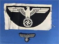 GERMAN THIRD REICH SPORTS SHIRT INSIGNIA W/