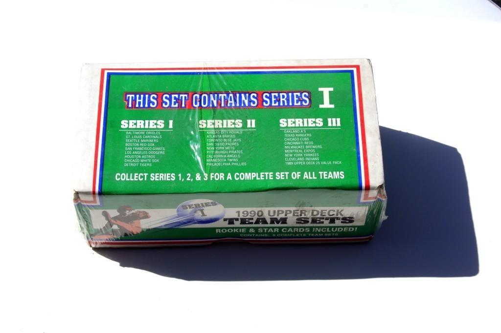 Upper Deck Team Set Baseball Cards 1990 Series 1 Big Als Auction
