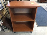 Bookcase stand on wheels 24x16x29