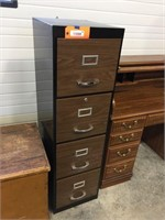 4 drawer metal file 15x18x52