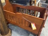 Wood cradle  36x20x36