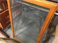 Framed screen & framed bottom window