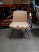 Mid century modern armchair as is