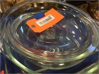 Glass bowls & glass baking dishes