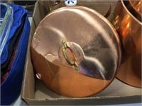 Copper like kettle & canisters