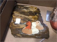 Duck book ends & duck related