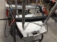 Sit & scoot walker & bat tub stool