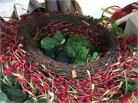 Wreath & assorted