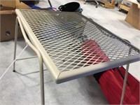 Wire mesh side table 18x14x18