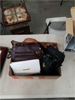 Box of hand bags