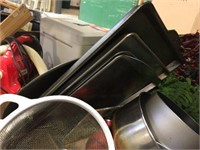 Pots, pans & baking related items