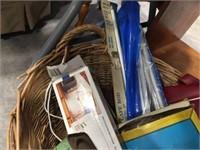 Basket & assorted decorators