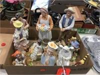 Assorted figural decorators