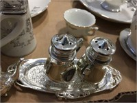 Cups, saucers & shakers