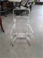 Acrylic chair frame