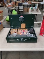 Coleman camp stove in the Box as is