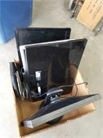 Box of computer monitors