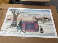 Pair of prints