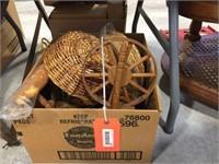 Baskets & assorted decorators