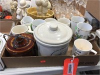 Cups & assorted