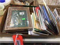 Picture frames & assorted cards