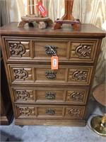 4 drawer dresser 34x18x44