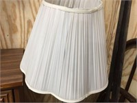 Floor lamp with shade 57 inches tall