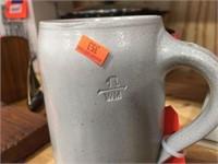 Stoneware mug made in Germany