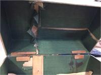 Hinged box, US Army training company book &