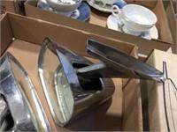 Side vehicle mirrors & stone wheel