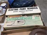 Electric paint remover & grass shear