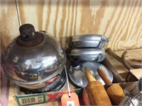 Oil lamp & camp cookware