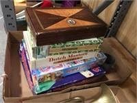 Rummikub, candy land & cigar boxes