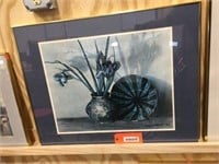 Framed decorator picture 28x22
