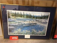Framed decorator picture 27x20
