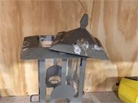 Enamelware & bird feeder