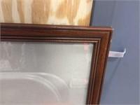 23x35 Framed peg board & 26x23 frame