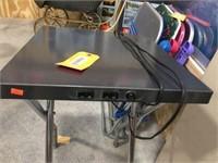 Metal table 18x16
