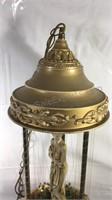 "Vintage Rain Fountain lamp 30"" tall"