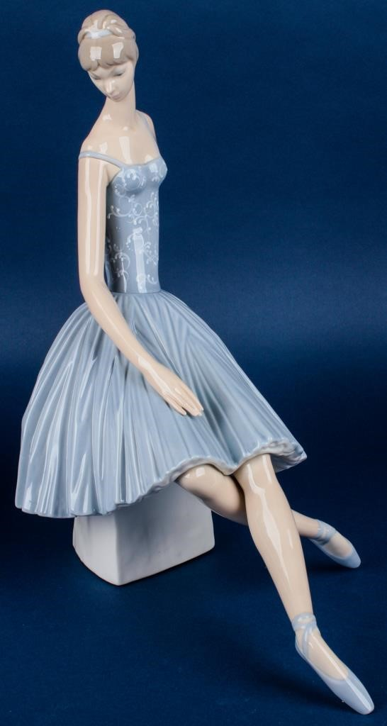 Retired Lladro Ballerina 4559 LARGE | AZFirearms com/Pot of
