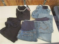 Maternity Pants and Shirts, Sizes Large and XL