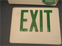 Exit Signs, Portable TV