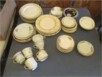 Floral Plates, Bowls, Mugs