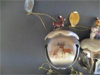 10) Rudolph Sleigh Bell Ornaments