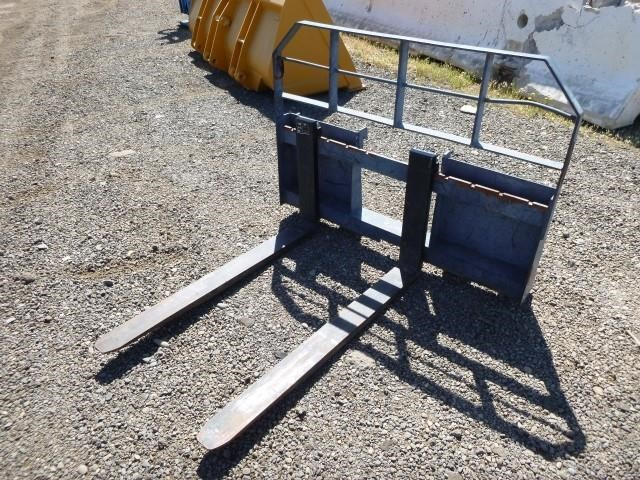M A H  Skid Steer Fork Attachments   Bar None Auction