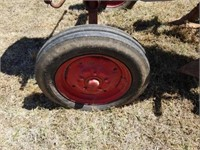 McCormick Farmall Cub Tractor Running with Plow