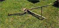 Mule Drawn Antique Single Row Plow