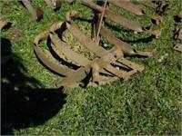 Lot of Vintage Farm Tractor Tools Cultivators More